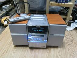 Panasonic Sa-pm39d Dvd Stereo System With Speakers And Remot