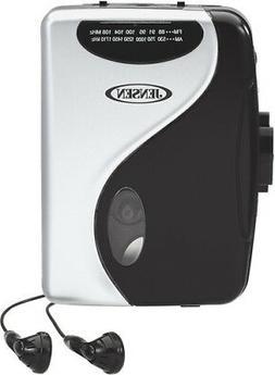 Jensen SCR-68C Stereo Cassette Player with AM/FM Radio