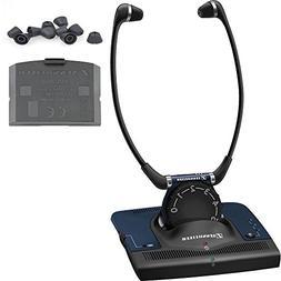 Sennheiser Set 840 RF TV Listening Headphones - Bundle With