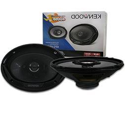 """Kenwood Sport Series 6x9"""" 6x9-INCH 3-way Car Audio Speakers"""
