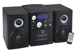 SHELF STEREO SUPERSONIC BLUETOOTH SYSTEM MP3 CD CASSETTE PLA