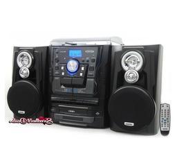 Jensen Shelf Stereo System w/ Record Player CD Changer & Cas