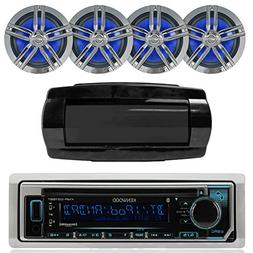 Kenwood Single DIN Bluetooth In-Dash CD/AM/FM/Digital Media