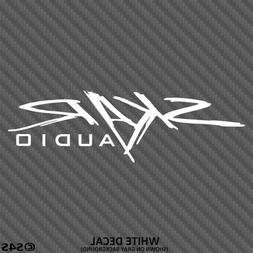 SKAR Audio Car Stereo System Vinyl Decal Sticker - Choose Co