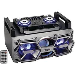 Jensen SMPS-750 Portable Bluetooth All-in-One Hi-Fi Music Sy