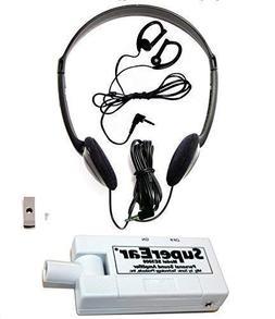 SuperEar Sonic Ear Personal Sound Amplifier Model SE5000 wit