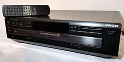 Sony CDP-CE405 Compact Disc Player Changer w/ 5 CD Changer