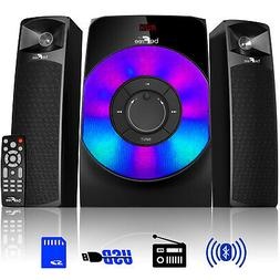2 1 channel bluetooth multimedia wired speaker