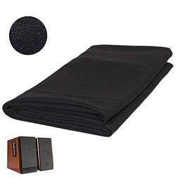 Speaker Grill Cloth, 2pcs Speaker Fabric Grill Dustproof Pro
