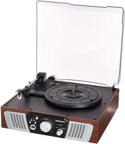 Sylvania SRC831 3Speed Turntable with Builtin Speakers and U