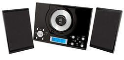 Sylvania SRCD114 Vertical CD Micro System Alarm Clock with D