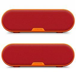 Sony SRSXB2/BLK Portable Wireless Bluetooth Speaker  Dual Pa