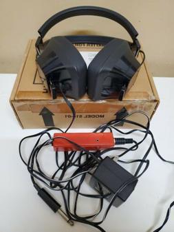Stereo Headphones Deaf Community Amplifier Headphone Impaire