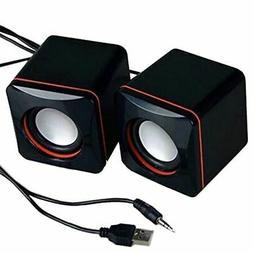Stereo Multimedia Computer Usb Speakers Laptop Pc Powered De