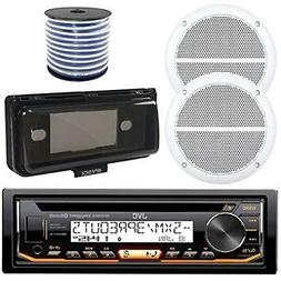 JVC In-Dash Marine Boat Bluetooth Radio USB CD Receiver Bund