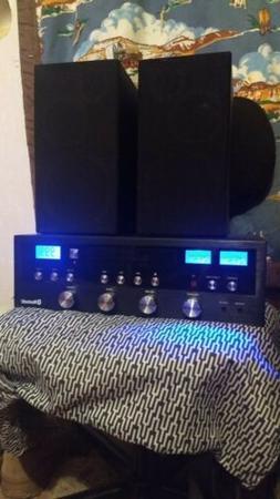 Innovative Technology Stereo System CD Bluetooth Home Speake