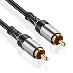 TNP Subwoofer S/PDIF Audio Digital Coaxial RCA Composite Vid