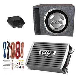 Boss Audio 1400W Subwoofer + Boss 1500W Amplifier + Remote &
