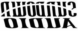 Sundown Audio Die Cut Vinyl Decal - Car Automobile Stereo Sy