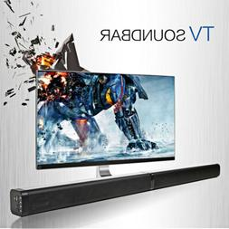Surround Sound Bar 4 Speaker System Wireless BT Soundbar TV