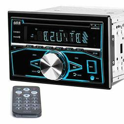 BOSS Audio Systems 850BRGB Car Stereo - Double Din, Bluetoot
