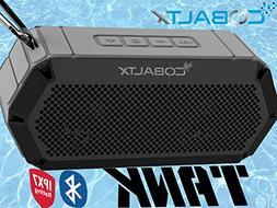 COBALTX Tank Rugged Wireless Bluetooth Speaker iPX7 Rated Wa