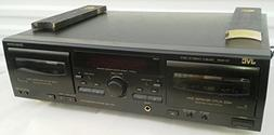 JVC TD-W218 Double Cassette Deck Tape Player