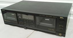 JVC TD-W444 Recordable Stereo Double Cassette Tape Deck Comp