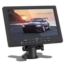 LSLYA 7 inch Digital TFT LED Monitor Display Portable 16:9 I