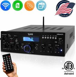 Theater Digital Audio System Receiver Amplifier with Pyle PD