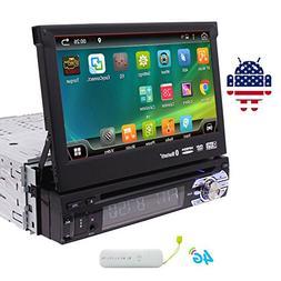 EinCar 7 inch Touch Screen Car DVD Player in Dash GPS Stereo