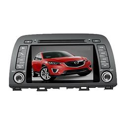 8 Inch Touch Screen Car GPS Navigation for MAZDA CX-5 2012-2