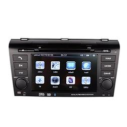 7 Inch Touch Screen Car GPS Navigation for MAZDA 3 2004-2009