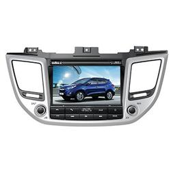 8 Inch Touch Screen Car GPS Navigation for HYUNDAI TUCSON 20