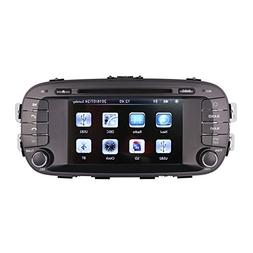 7 Inch Touch Screen Car GPS Navigation for KIA SOUL 2014-201