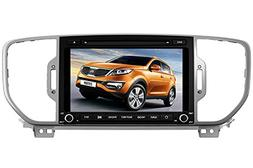 8 Inch Touch Screen Car GPS Navigation for KIA SPORTAGE / KX