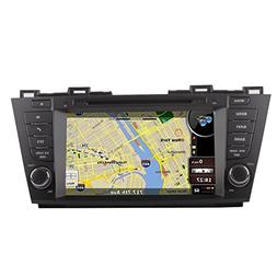 8 Inch Touch Screen Car GPS Navigation for Mazda 5 2010-2016