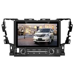 9 Inch Touch Screen Car GPS Navigation for TOYOTA Alphard 20