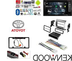 Touchscreen CAR DVD Bluetooth Stereo Rear View Camera Single