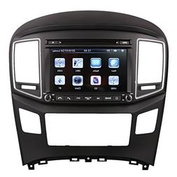 Indiny 8 Inch Touchscreen Car GPS Navigation System for HYUN