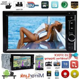 Touchscreen Subwoofer Stereo Car DVD CD Player 2 Din A5 Syst
