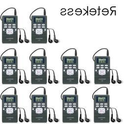 Portable Radio Receiver Stereo Digital Wireless Meeting/Chur