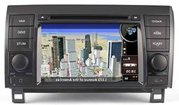 2007-2013 Toyota Tundra In-Dash GPS Navigation DVD Player Bl