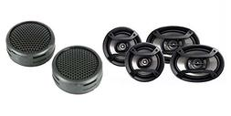 """Pioneer TS-165P + TS-695P Two Pairs 6.5"""" + 6x9"""" Car Componen"""