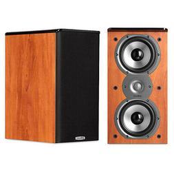 "Polk Audio TSi200 2-Way Bookshelf Speakers with Dual 5-1/4"""