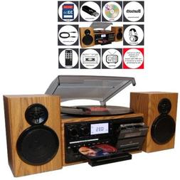 Teac Turntable Stereo System with Bluetooth in a Retro-moder