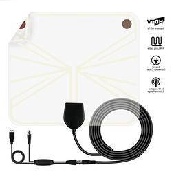 TV Antenna, Indoor Digital HDTV Antenna Amplified Signal Boo