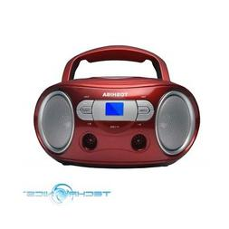 ty crs9 portable cd boombox with am