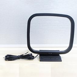 Universal 360 Degree FM/AM Loop Antenna For Receiver Mini Co
