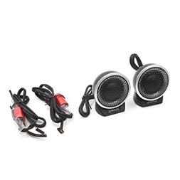 uxcell 2pcs Universal Auto Car Audio System Speaker Dome Twe